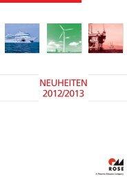NEUHEITEN 2012/2013 - Rose Systemtechnik GmbH
