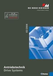 Antriebstechnik Drive Systems - AVS Phoenix Mecano