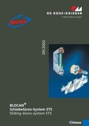 Datenblatt Schiebetüren-Set - AVS Phoenix Mecano