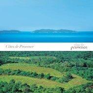 Dépliant côtes de Provence Document Bilingue ... - Vins de Provence