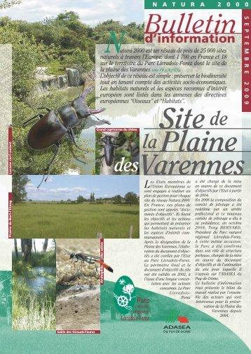Bulletin - Parc naturel régional Livradois-Forez
