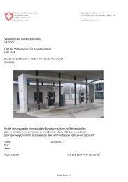 Verzeichnis der Bundestankstellen 2012 - Logistikbasis der Armee ...