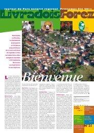Journal du Parc n°21 - Parc naturel régional Livradois-Forez