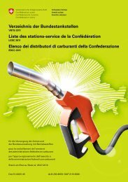 Verzeichnis der Bundestankstellen Liste des stations-service de la ...