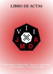 10Mb - VII Jornadas de Matemática Discreta y Algorítmica
