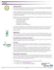 LEXIQUE - Développement durable, environnement et parcs