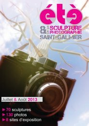 Découvrez les artistes présents - Site officiel - Mairie de Saint-Galmier