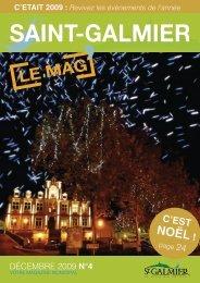 Le Mag N° 4 - Site officiel - Mairie de Saint-Galmier