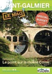 Le point sur la rivière Coise - Site officiel - Mairie de Saint-Galmier