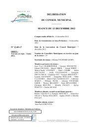 Travaux en régie - Année 2012 - Site officiel - Mairie de Saint-Galmier
