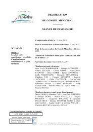 Location salles municipales - Modalités d'application - Site officiel ...