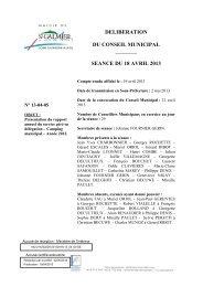 Camping municipal - Année 2012 - Site officiel - Mairie de Saint ...