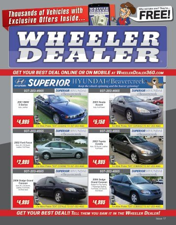 Wheeler Dealer 17-2015