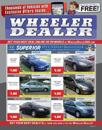 Wheeler Dealer 17-2015