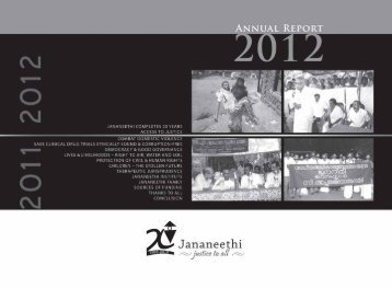 JANANEETHI Annual Report