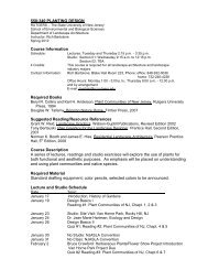 Department of Landscape Architecture - Rutgers, The State ...