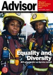 Autumn 2006 - Fire Brigades Union