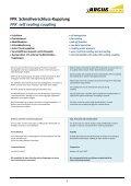 ARGUS-Kupplungen Katalog - Seite 3