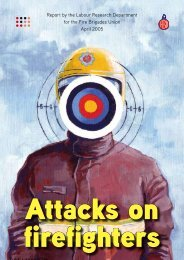 Attacks on Firefighters - Fire Brigades Union