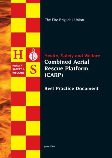 Combined Aerial Rescue Platform (CARP) - Fire Brigades Union