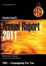 Report - Fire Brigades Union