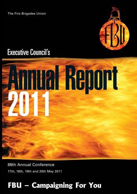 Report Fire Brigades Union