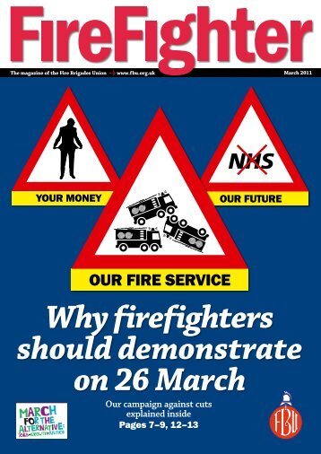 Why firefighters should demonstrate on 26 March - Fire Brigades ...