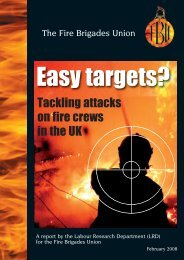 Easy Targets - Fire Brigades Union