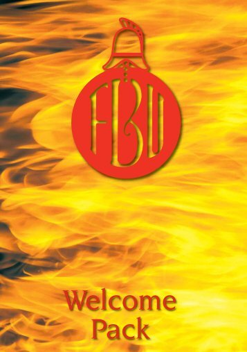 New members welcome pack - Fire Brigades Union