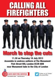 9566 FBU Calling all firefighters A5X 2pp.indd - Fire Brigades Union
