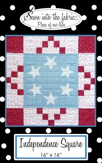Independence Square - Sewn into the fabric