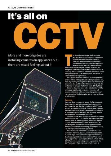 It's all on CCTV - Fbu.me.uk