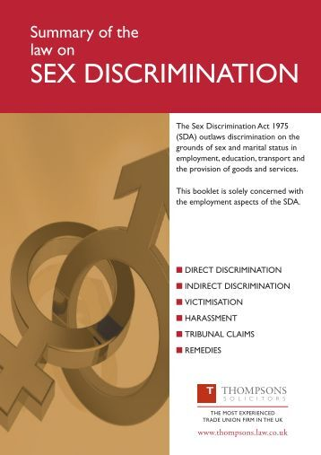 Posts email Sexual discrimination policy problem and