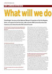 ken cameron interview - National Womens Committee of the Fire ...