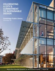 Sustainable Design Summary - William Rawn Associates