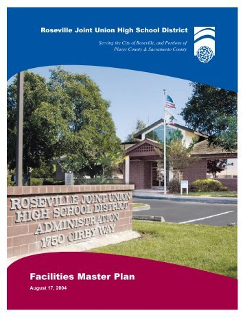 Facilities Master Plan - Roseville Joint High School District