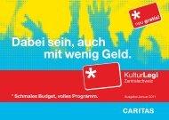 (inkl. Antragsformular) – Ausgabe Januar 2011 - KulturLegi