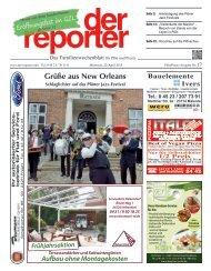 der reporter - Das Familienwochenblatt für Plön und Preetz 2015 KW 17