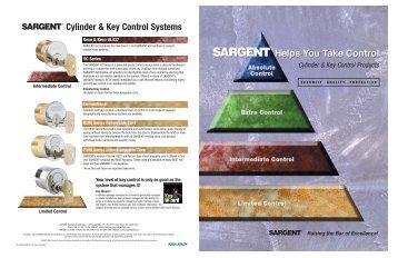 SARGENT Cylinder & Key Control Systems - Sargent Locks