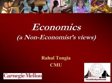 Economics I - TechBridgeWorld