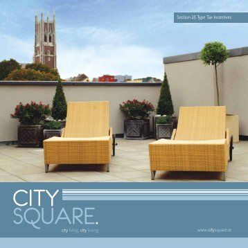 www.citysquare.ie Section 23 Type Tax Incentives