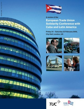 European Trade Union Solidarity Conference with Cuba and Latin ...