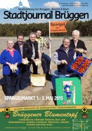 Stadtjournal Brüggen April 2015