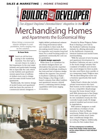 Merchandising Homes - Parker Rose Design