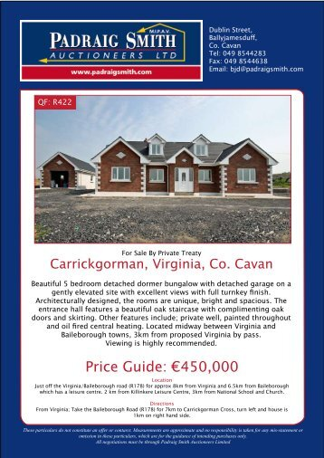 Price Guide: €450,000 - Daft.ie