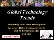 Global technology trends - TechBridgeWorld