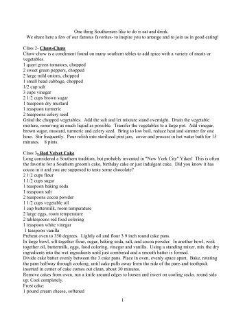 Recipes for Arrangement Classes