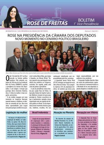 rose na presidência da câmara dos deputados - Rose de Freitas