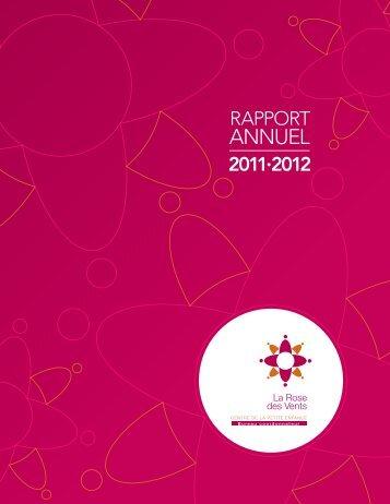Rapport annuel 2011-2012 - CPE La Rose des Vents