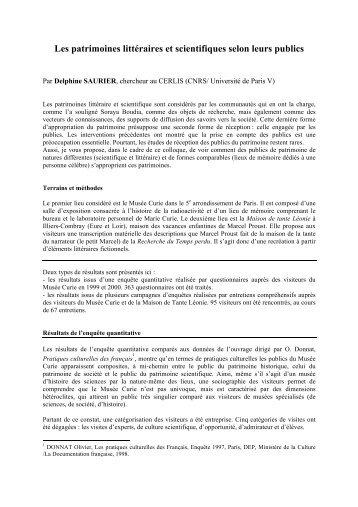 Delphine Saurier - Espace culture de l'université de Lille 1